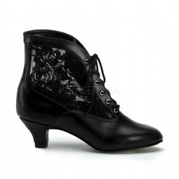 Costume-Ladies Dame Ankle Boots